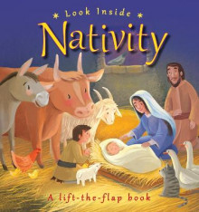 Look Inside Nativity av Lois Rock (Innbundet)