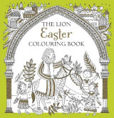 Omslag - The Lion Easter Colouring Book
