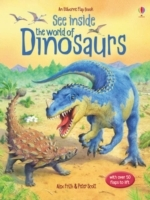 See Inside the World of Dinosaurs av Alex Frith (Innbundet)
