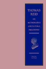Omslag - Thomas Reid on Mathematics and Natural Philosophy
