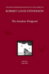 Omslag - The Amateur Emigrant, by Robert Louis Stevenson