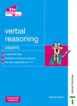 Omslag - 11+ Personal Tutor Verbal Reasoning Papers: Standard Version