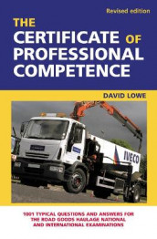 The Certificate of Professional Competence av David Lowe (Heftet)