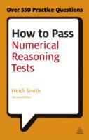 Omslag - How to Pass Numerical Reasoning Tests