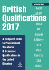 Omslag - British Qualifications 2017