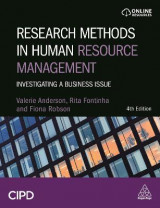 Omslag - Research Methods in Human Resource Management