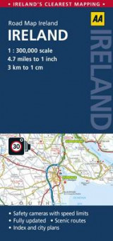 Omslag - AA Road Map Ireland
