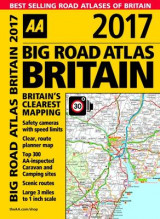 Omslag - AA Big Road Atlas Britain 2017