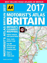 Omslag - AA Motorist's Atlas Britain 2017