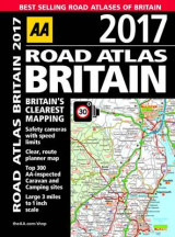 Omslag - AA Road Atlas Britain 2017