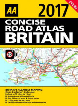 Omslag - Concise Road Atlas of Britain 2017