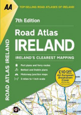 Omslag - AA Road Atlas Ireland