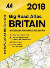 Omslag - AA Big Road Atlas Britain 2018