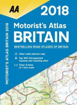 Omslag - AA Motorist's Atlas Britain 2018