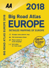 Omslag - AA Big Road Atlas Europe 2018