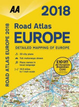 Omslag - AA Road Atlas Europe 2018