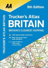 Omslag - AA Trucker's Atlas Britain