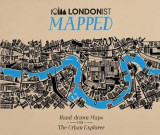 Omslag - Londonist Mapped; Hand-drawn Maps for the Urban Explorer
