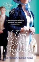 First Comes Marriage av Mary Balogh (Heftet)