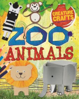 Omslag - Creature Crafts: Zoo Animals