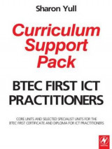 Omslag - BTEC First ICT Practitioners Curriculum Support Pack