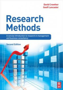 Research Methods av Professor David Crowther og Geoff Lancaster (Heftet)