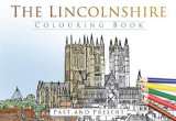 Omslag - The Lincolnshire Colouring Book: Past & Present