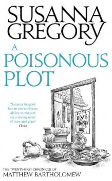 A Poisonous Plot av Susanna Gregory (Heftet)