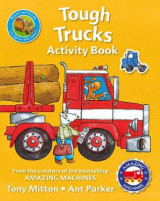 Omslag - Amazing Machines Tough Trucks Activity Book