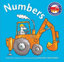 Amazing Machines First Concepts: Numbers av Tony Mitton (Pappbok)