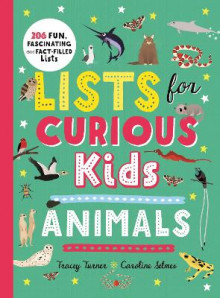Lists for Curious Kids: Animals av Tracey Turner (Innbundet)