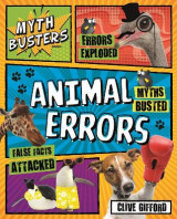 Omslag - Myth Busters: Animal Errors