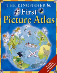 The Kingfisher First Picture Atlas av Deborah Chancellor (Blandet mediaprodukt)