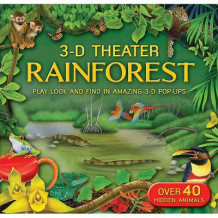 3-D Theater: Rainforest av Kathryn Jewitt (Innbundet)