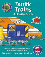 Omslag - Amazing Machines Terrific Trains Activity Book