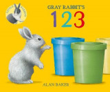 Omslag - Gray Rabbit's 123