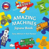 Omslag - Amazing Machines Jigsaw Book