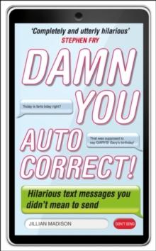 Damn you, autocorrect! av Jillian Madison (Heftet)