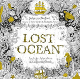 Omslag - Lost ocean. An inky adventure & colouring book