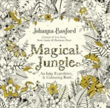 Magical jungle. An inky expedition & colouring book av Johanna Basford (Andre trykte artikler)