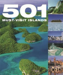 501 must visit islands (Innbundet)