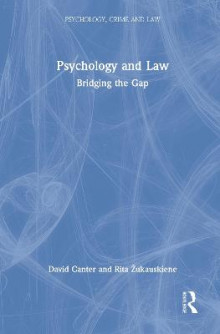 Psychology and Law av David V. Canter og Professor Rita Zukauskiene (Innbundet)