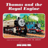 Omslag - Thomas & Friends: Thomas and the Royal Engine