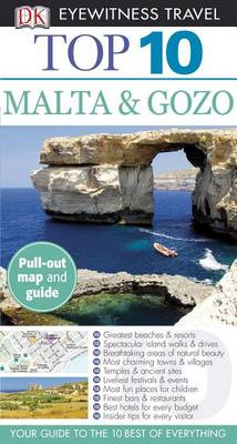 Dk Eyewitness Travel Top 10 Malta & Gozo av Mary-Ann Gallagher (Heftet)