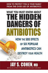 Omslag - What You Must Know about the Hidden Dangers of Antibiotics