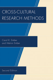 Cross-Cultural Research Methods av Carol R. Ember og Melvin Ember (Heftet)