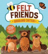 Omslag - Felt Friends Woodland Critters