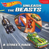 Omslag - Hot Wheels Unleash the Beasts: A Street Race