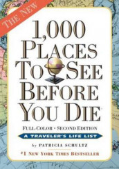 1000 places to see before you die av Patricia Schultz (Heftet)