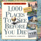 1,000 Places to See Before You Die Calendar PAD 2013 av Patricia Schultz (Kalender)
